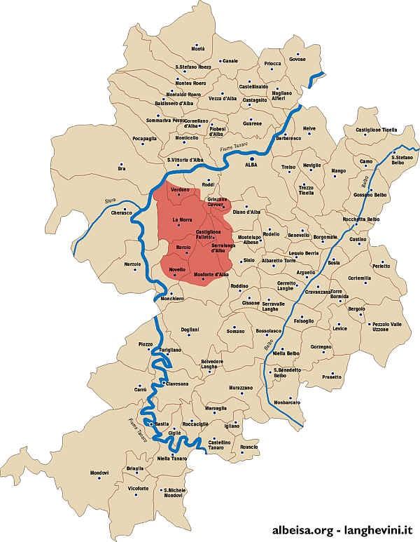 Barolo Wine Region Italy Map.A History Of Barolo Xtrawine Blog