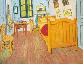 Vincent_Van_Gogh_La camera di Vincent ad Arles