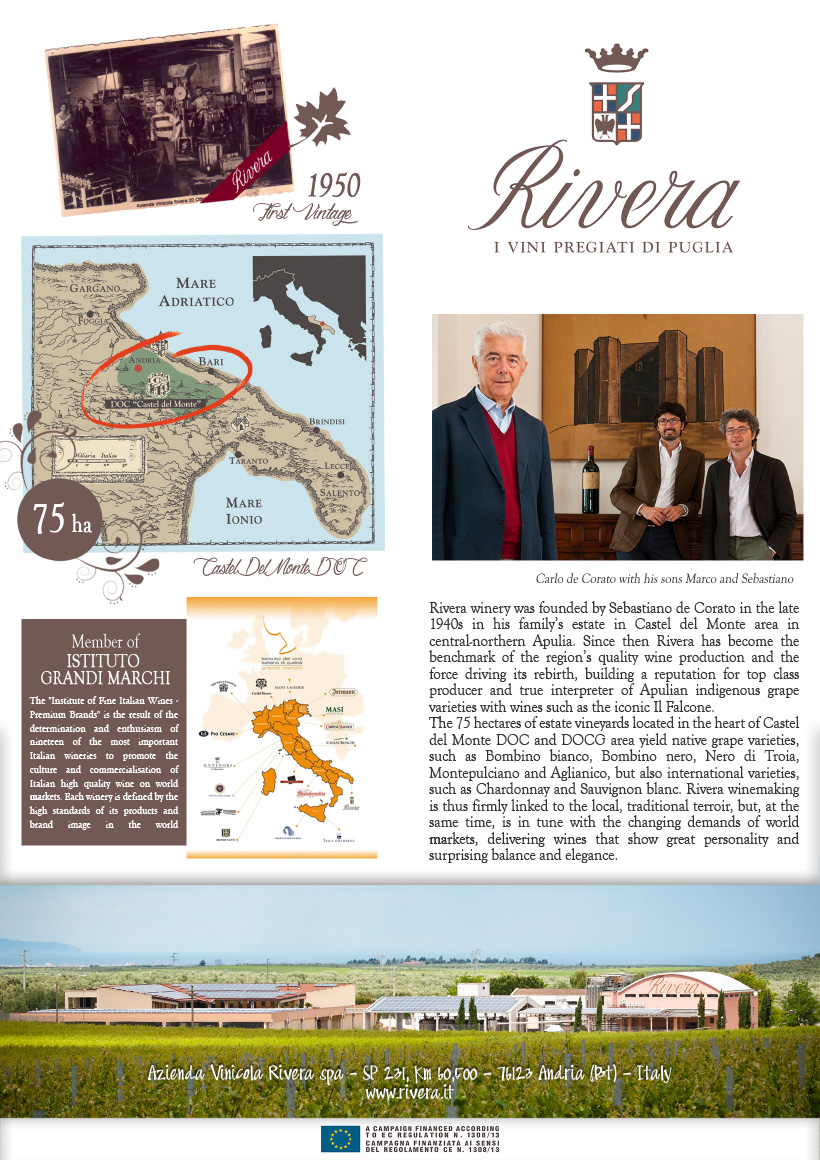 Rivera Winery: Apulia's fine wines