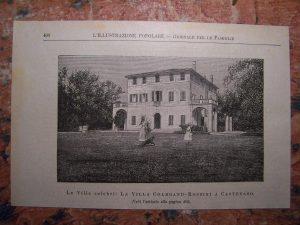 Villa Rossini a Castenaso, andata distrutta