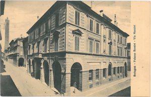 Palazzo Rossini a Bologna, Strada Maggiore 26, da //collezioni.genusbononiae.it/products/dettaglio/11123