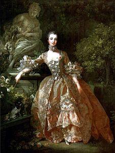Madame de Pompadour, ritratto di François Boucher, 1759
